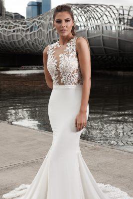 2018 Modern wedding dress design Melbourne