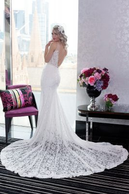 All Lace Wedding Dress In Melbourne