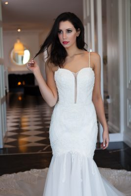 Beaded Lace Wedding Dress Melbourne