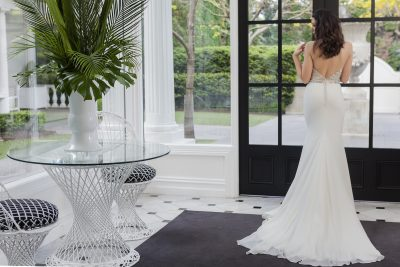 Crystal And Pearl Wedding Dress Melbourne