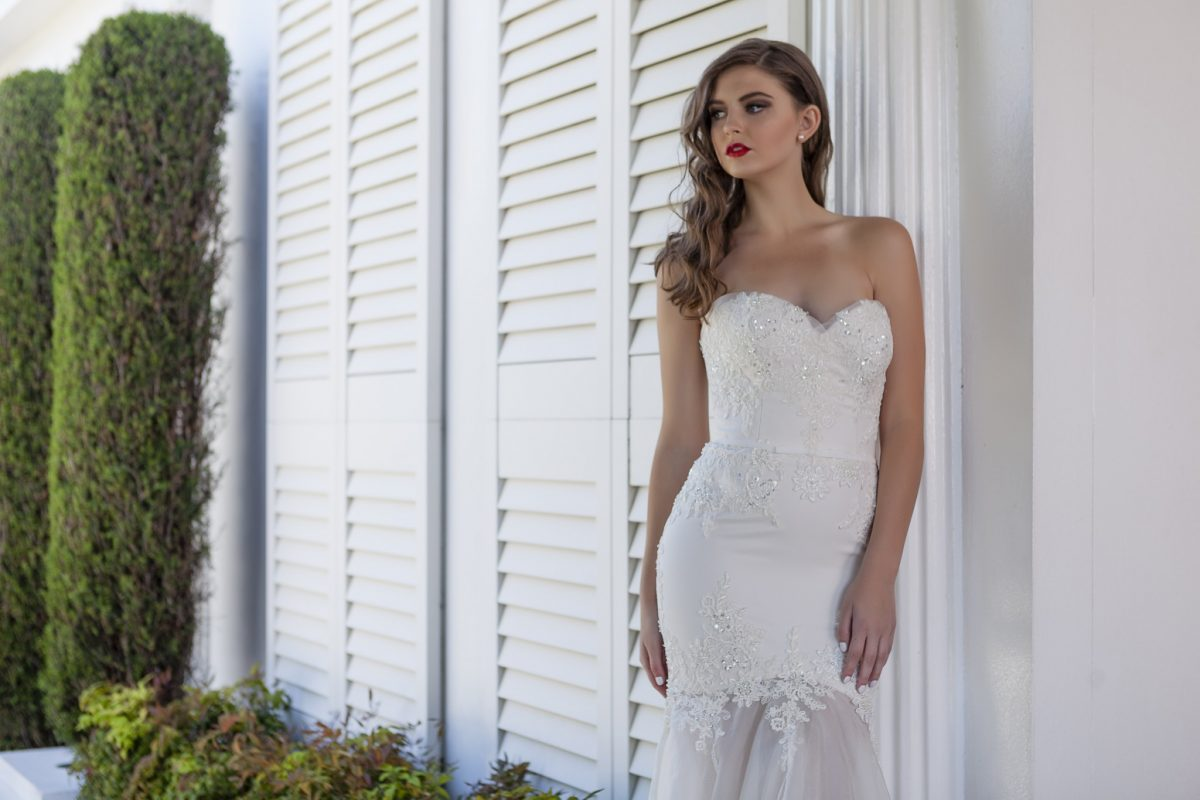 Custom Couture wedding dress Melbourne