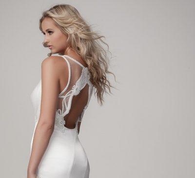 Fitted Sleek Style Wedding Dress