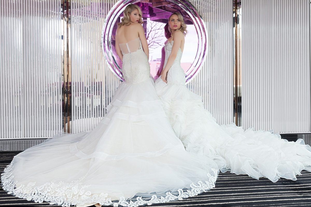Full skirt wedding dress Melbourne