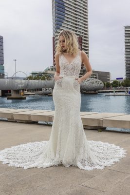 Lace Wedding Gown Melbourne
