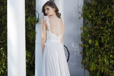 Low Back Couture Wedding Dress Melbourne