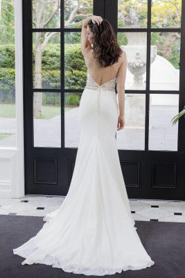 Low Back Wedding Dress Melbourne