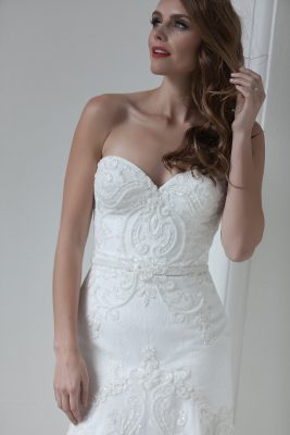 Modern Beaded Wedding Dress Melbourne