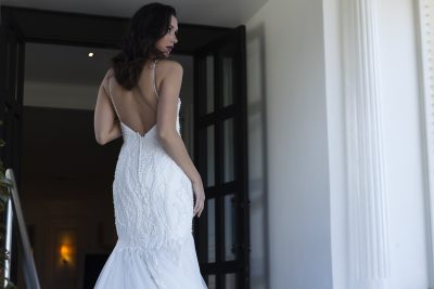 Pearl Beaded Wedding Dress Melbourne