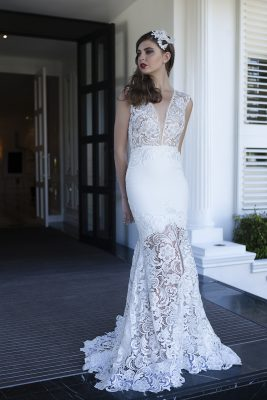 Vintage Lace Wedding Gown Melbourne