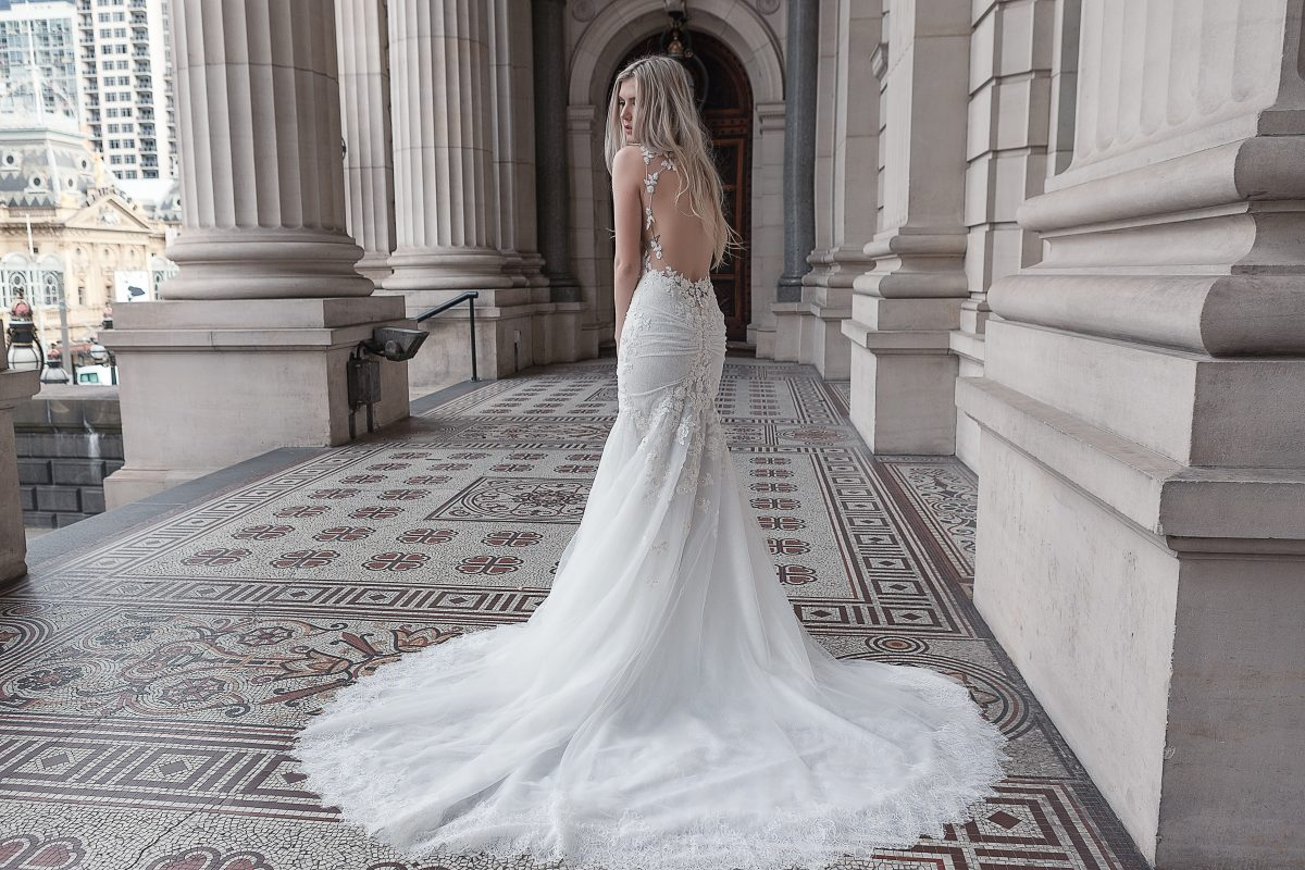 Custom Made Wedding Dress Melbourne