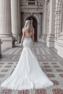 Fit and Flare weeding dress Melbourne