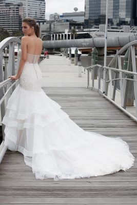 Organza Skirt Bridal Gown Melbourne