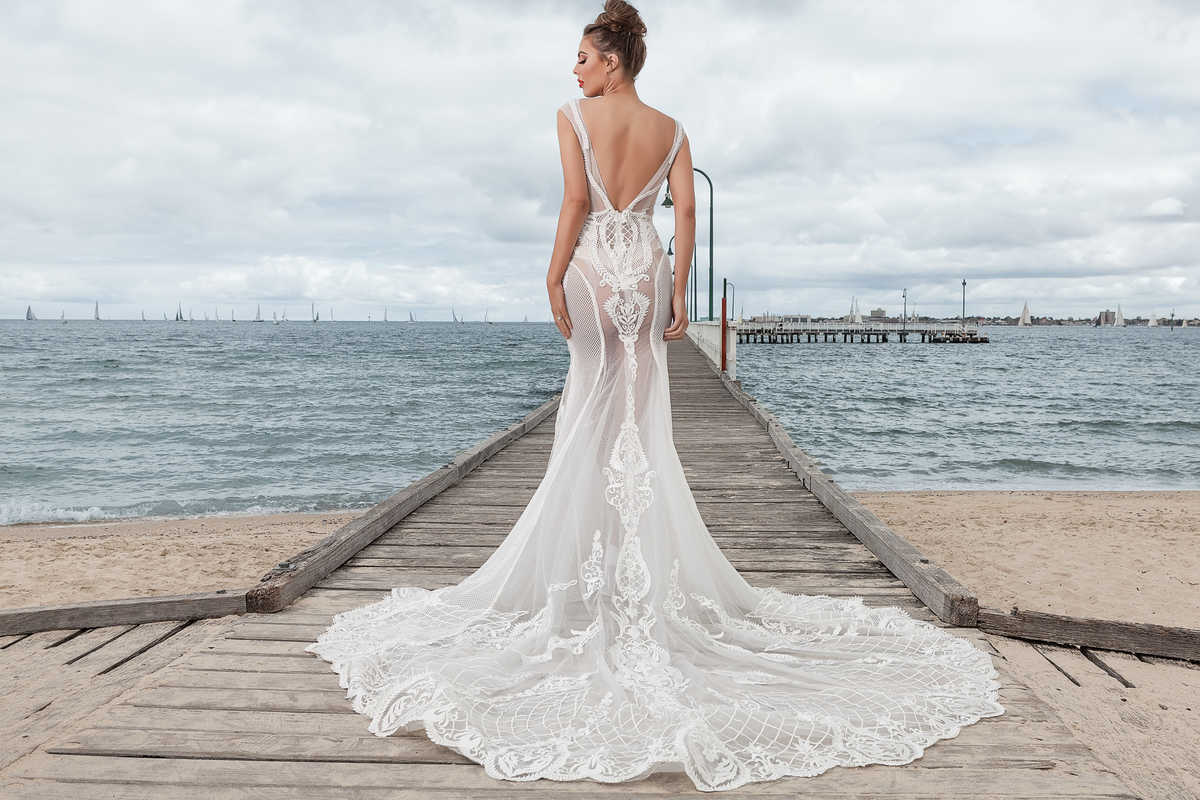 Bridal photo shoot for lookbook bride 2018 melbourne for Wedding dresses under 3000 melbourne