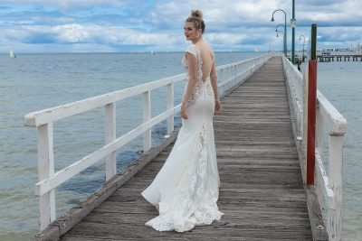 2018 Fitted sleek Style wedding Dress Melbourne