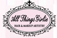 All Things Girlie Hair and Makeup Artistry Logo