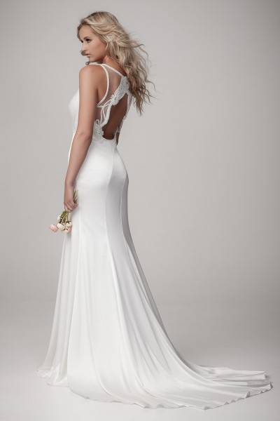 Fitted Sleek Style Wedding Dress Melbourne