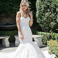 Lookbook Lace Lux ranges brings brides a hand constructed gown made to measure. All Lookbook Lace Lux range from $2,300 to $2,600.